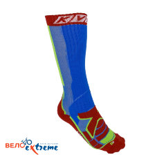 Носки KV+ Socks NORDIC STEP (long) blue\red\green 6U21.2
